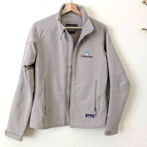Patagonia Guide Jacket Mid Weight Zip Up Gray S